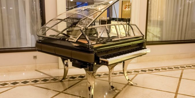 The best piano in business is manufactured by Steinway. The Steinways have been the best in business back from 1853.