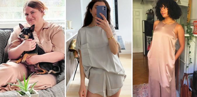 Women's Silk Nightgown